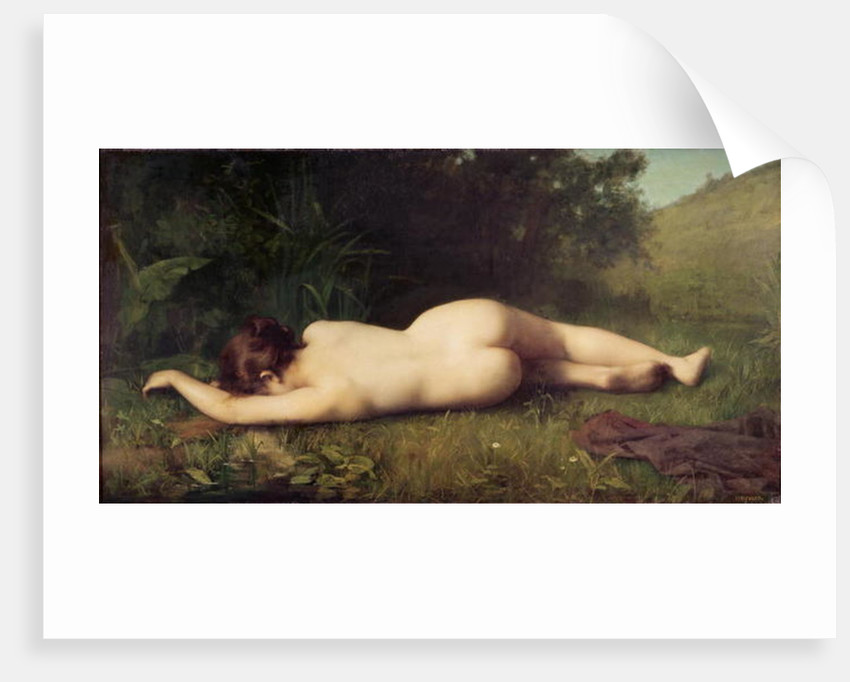 Byblis Turning into a Spring by Jean-Jacques Henner