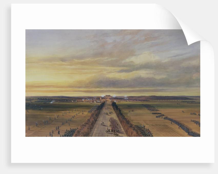 Battle of Brienne by Jean Antoine Simeon Fort
