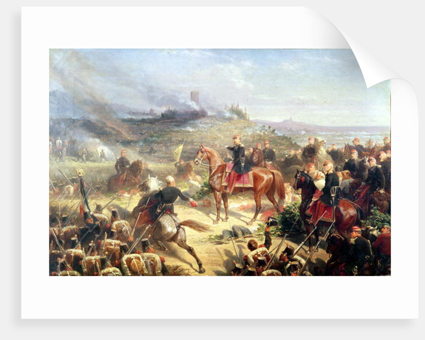 Battle of Solferino by Adolphe Yvon