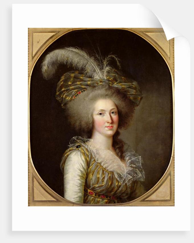Elisabeth of France by French School