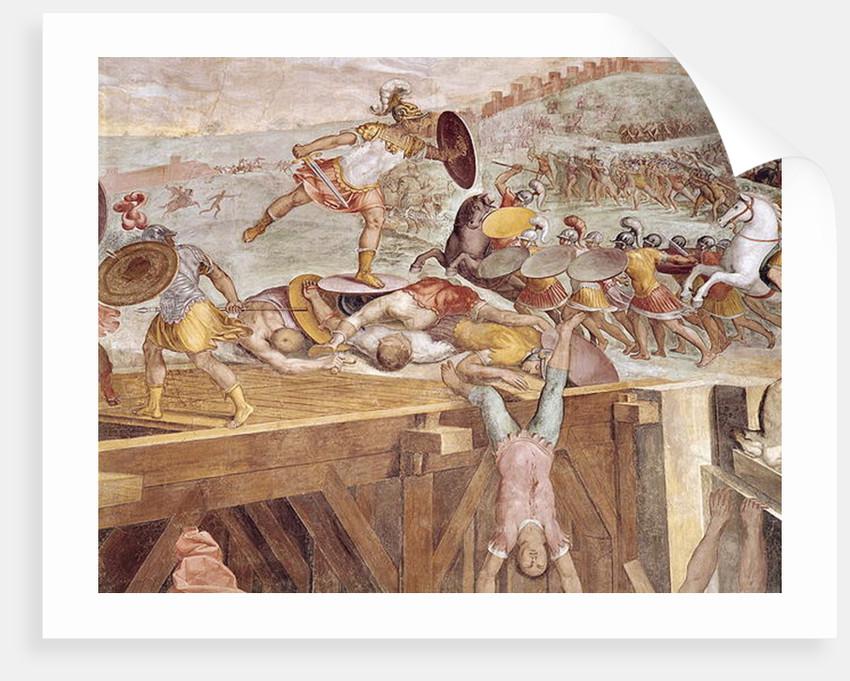 Horatius Cocles on the Sublician Bridge by Tommaso Laureti