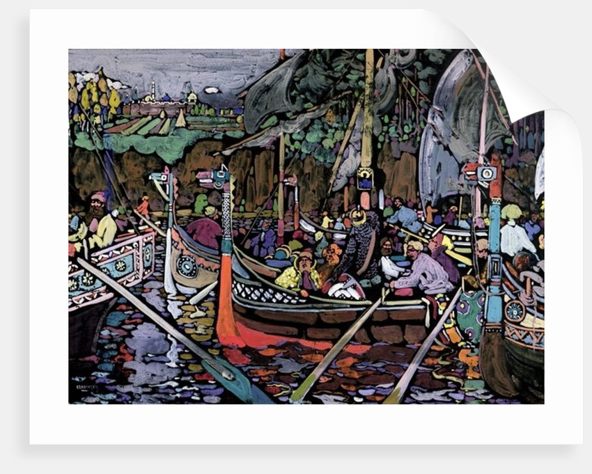 Song of the Volga, 1906 by Wassily Kandinsky