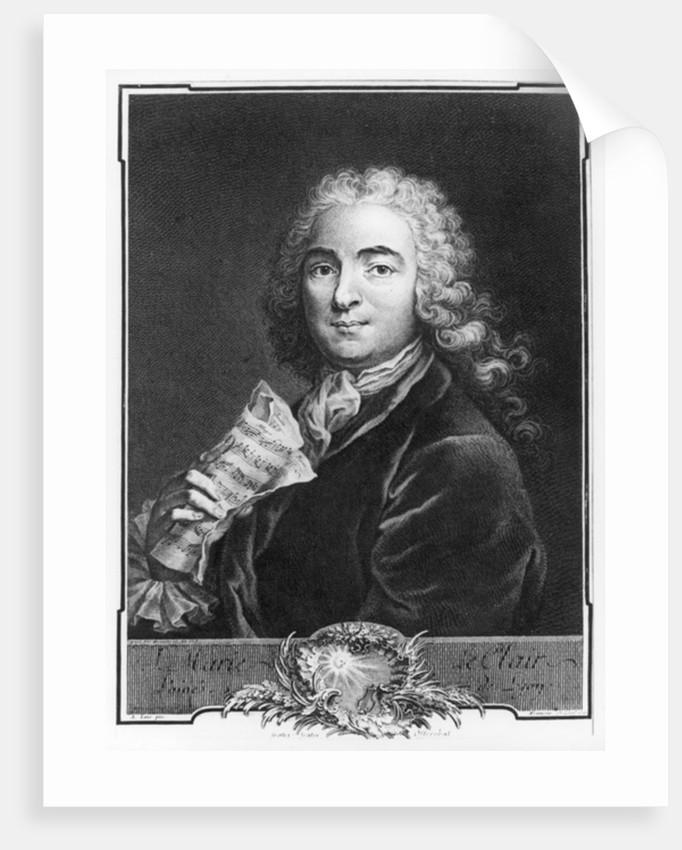 Portrait of Jean-Marie Leclair the Elder by Alexis Loir