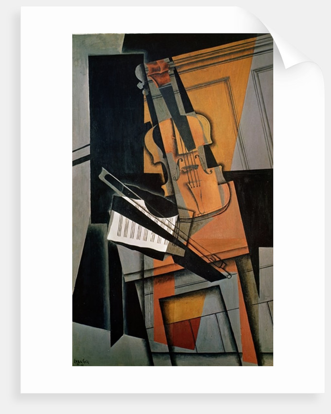 The Violin by Juan Gris