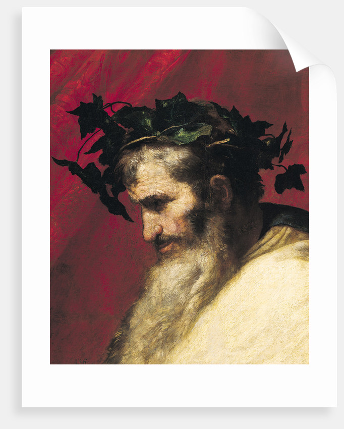 Head of an Old Man, fragment from the Triumph of Bacchus by Jusepe de Ribera