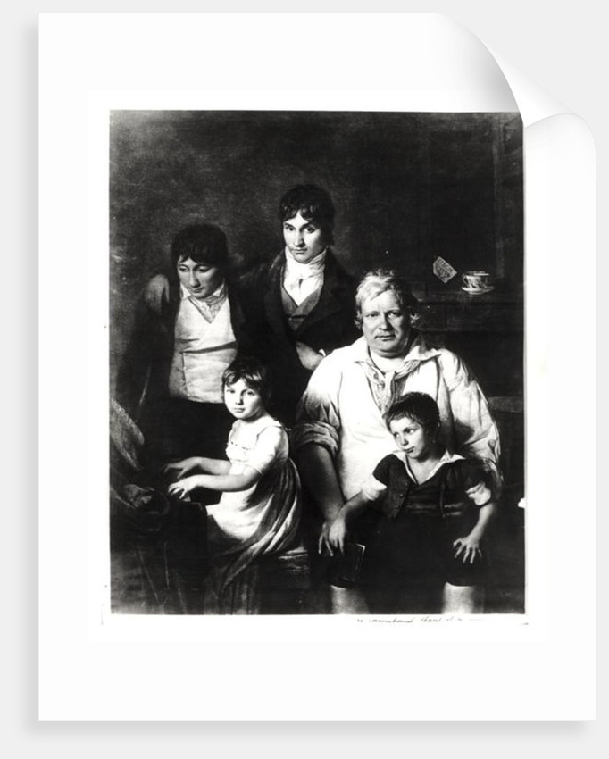Family Portrait, formerly known as Michel Gerard member of the Convention, with his Family by Jacques Louis David