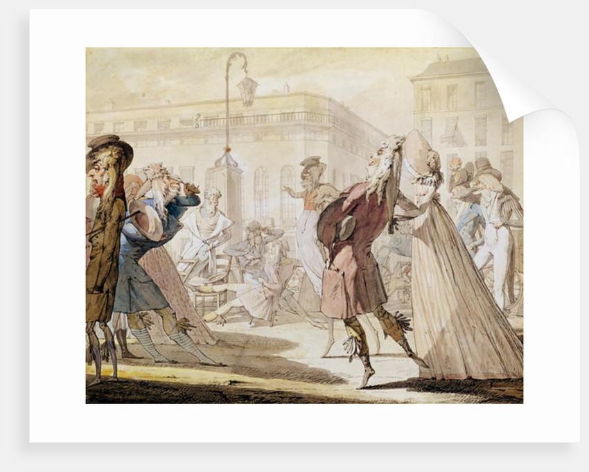 Le Petit Coblentz by Jean-Baptiste Isabey