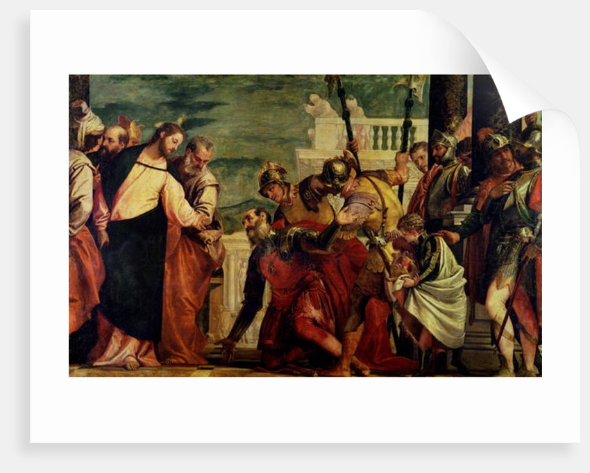Jesus and the Centurion by Veronese