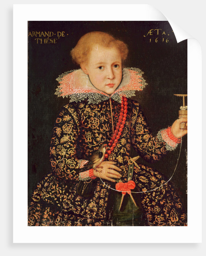 Armand de Tesse aged Four by French School