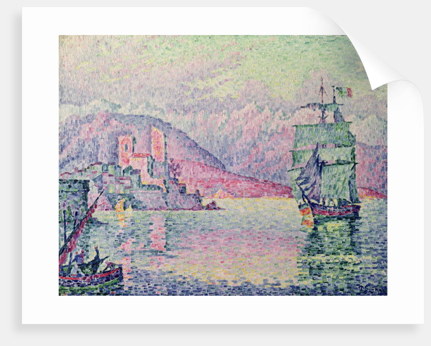 Antibes, Evening by Paul Signac