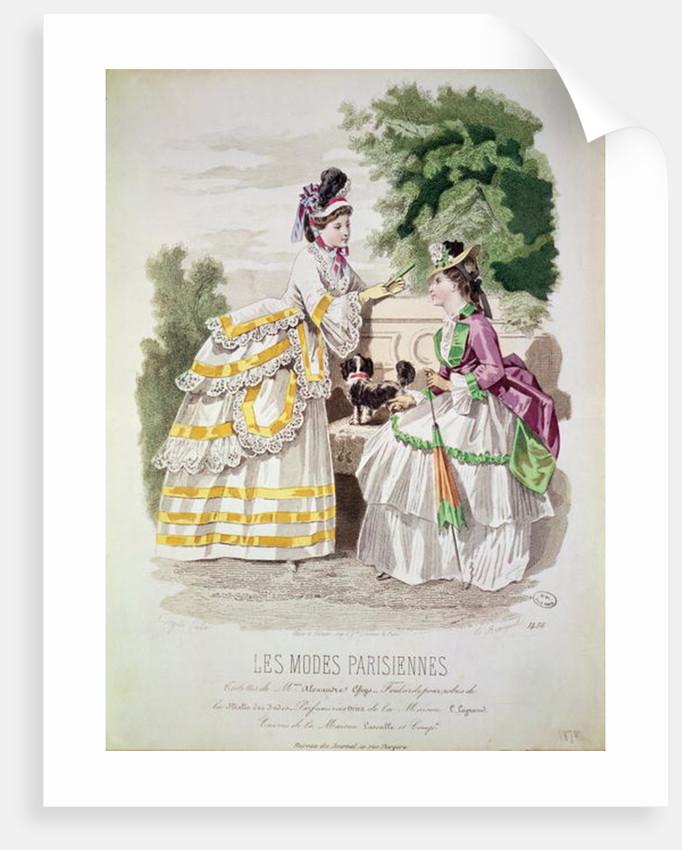 Female fashions by French School