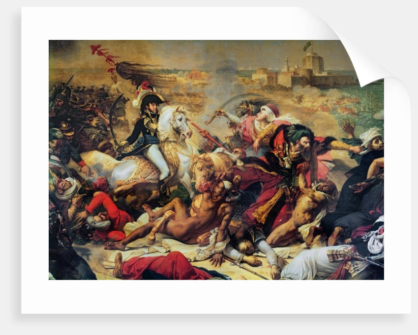 The Battle of Aboukir by Baron Antoine Jean Gros