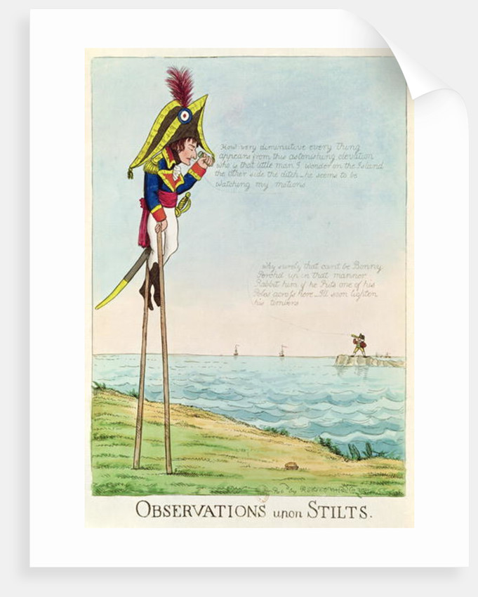 Observations Upon Stilts by English School