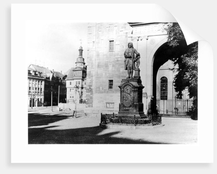 Statue of Johann Sebastian Bach by German School