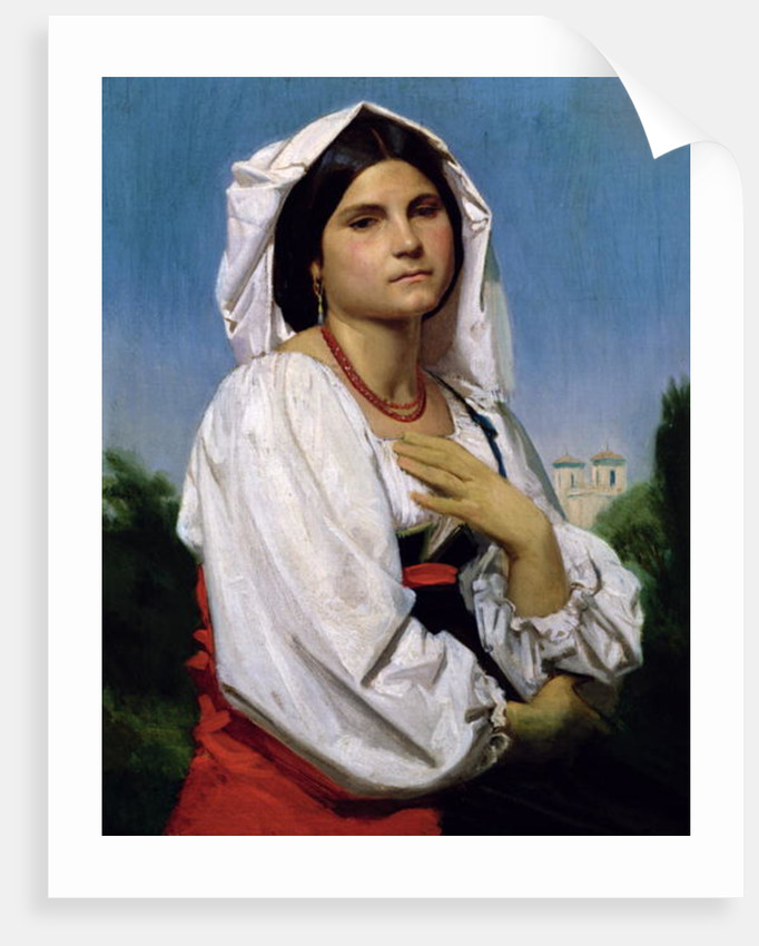 Therese by William-Adolphe Bouguereau
