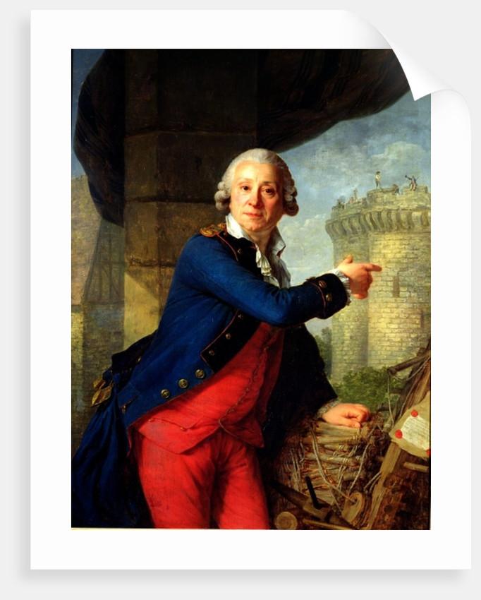 Jean-Henri Chevalier de Latude by Antoine Vestier