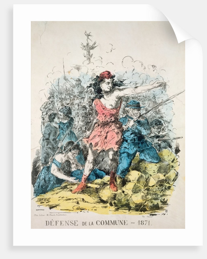 Defence of the Commune by French School