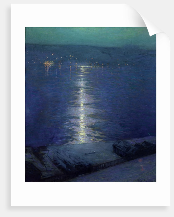Moonlight on the River, 1919 by Lowell Birge Harrison