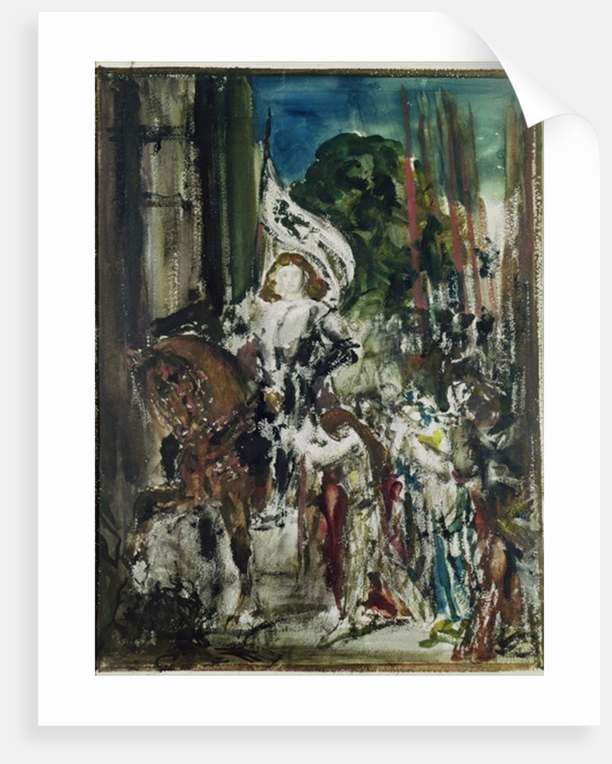 Joan of Arc by Gustave Moreau