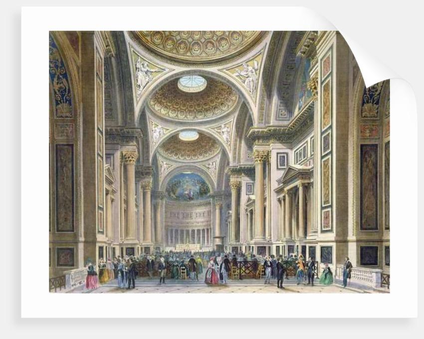 Interior of La Madeleine, Paris by Philippe Benoist