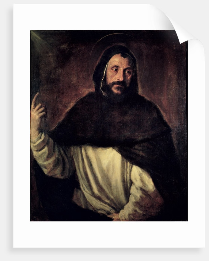 St. Dominic by Titian