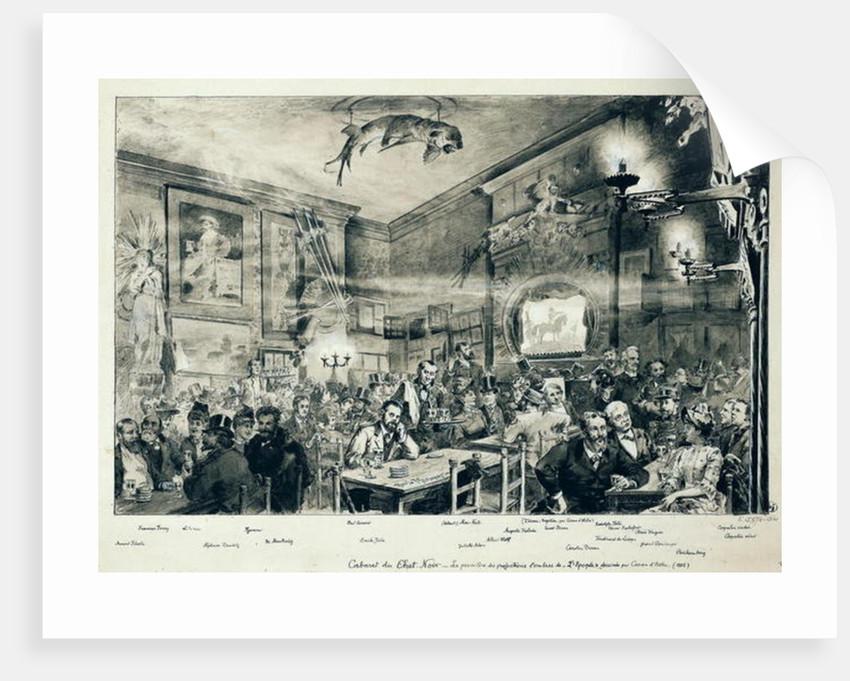 The Cabaret du Chat Noir by Paul Merwart