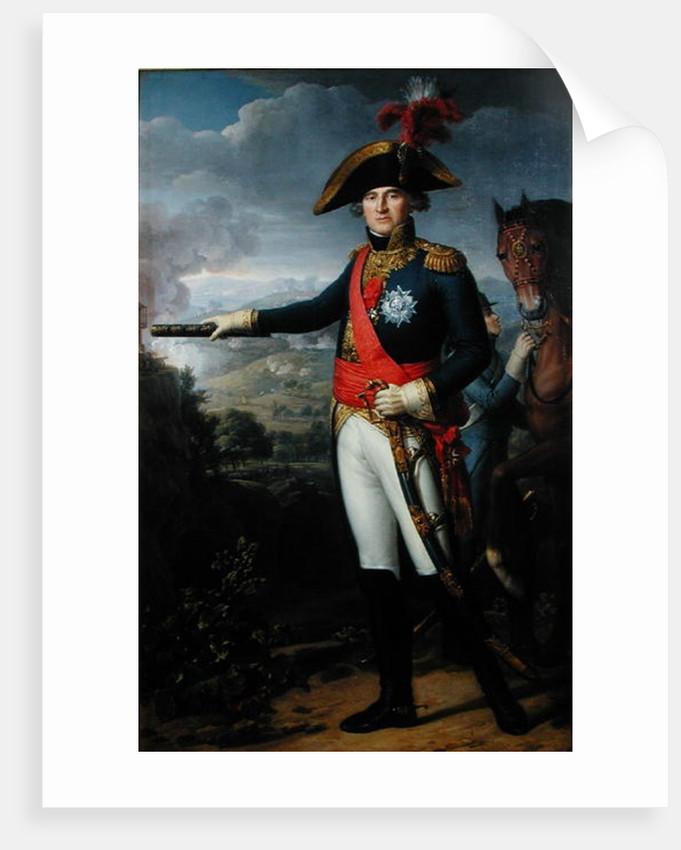 Jean Mathieu Philibert Serurier Comte d'Empire by Jean Louis Laneuville