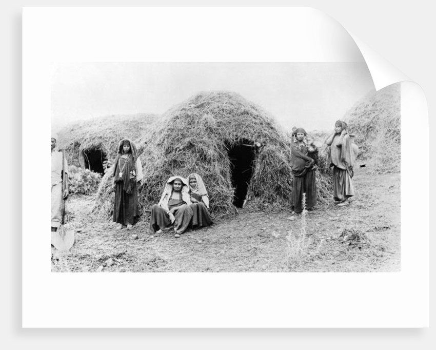 Berber village near Tunis by French Photographer