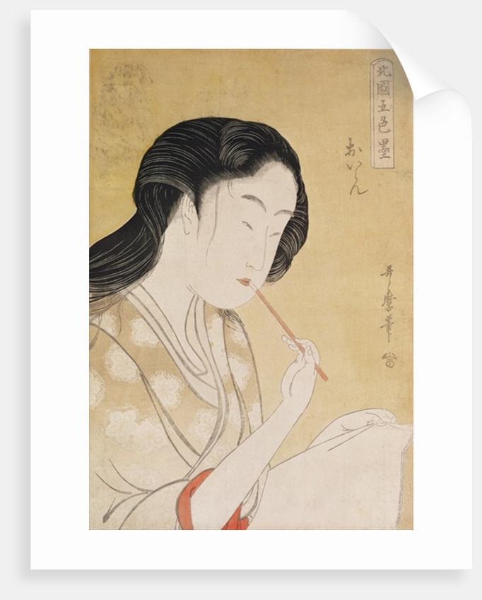 Portrait of a Woman by Kitagawa Utamaro