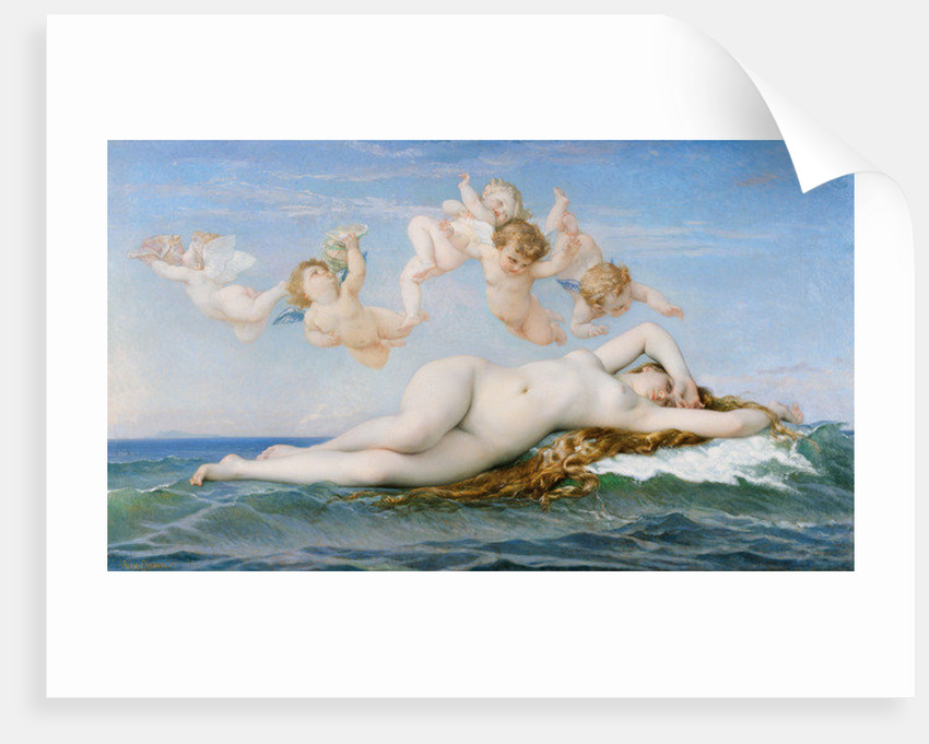 Birth of Venus by Alexandre Cabanel