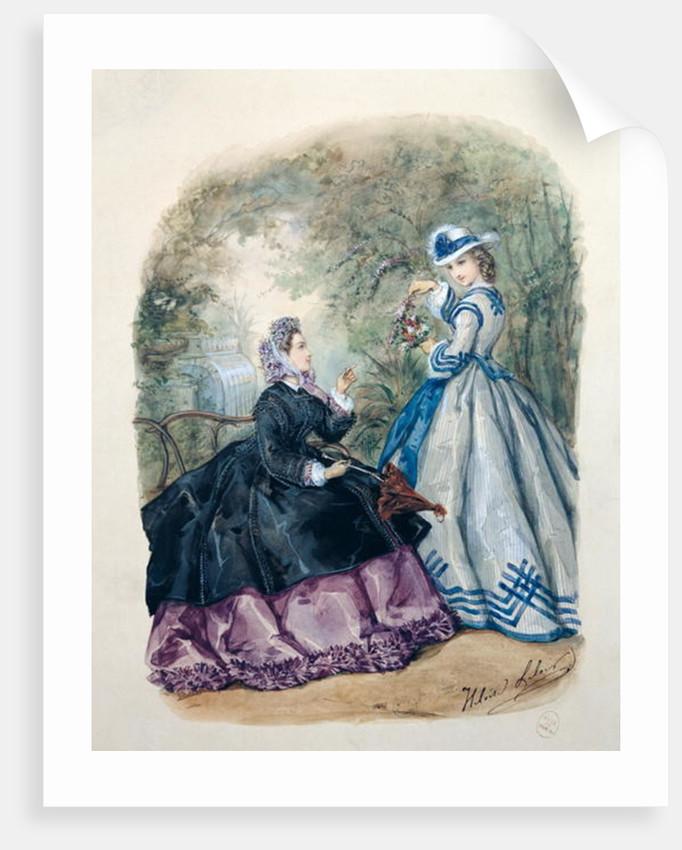 Afternoon Dress for Women by Heloise Leloir