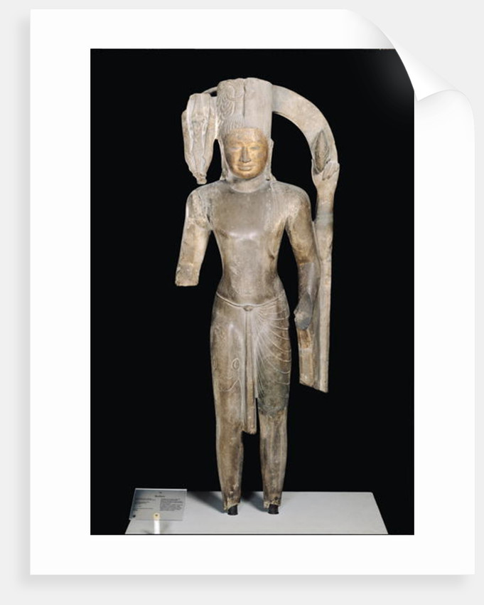 Standing statue of Harihara, Phnom Da Style by Cambodian
