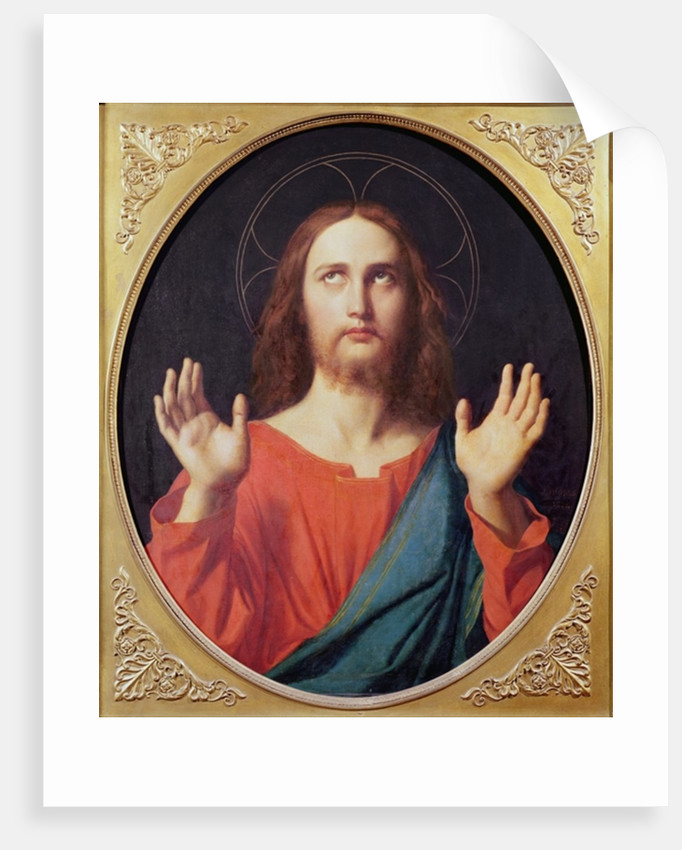 Christ by Jean Auguste Dominique Ingres