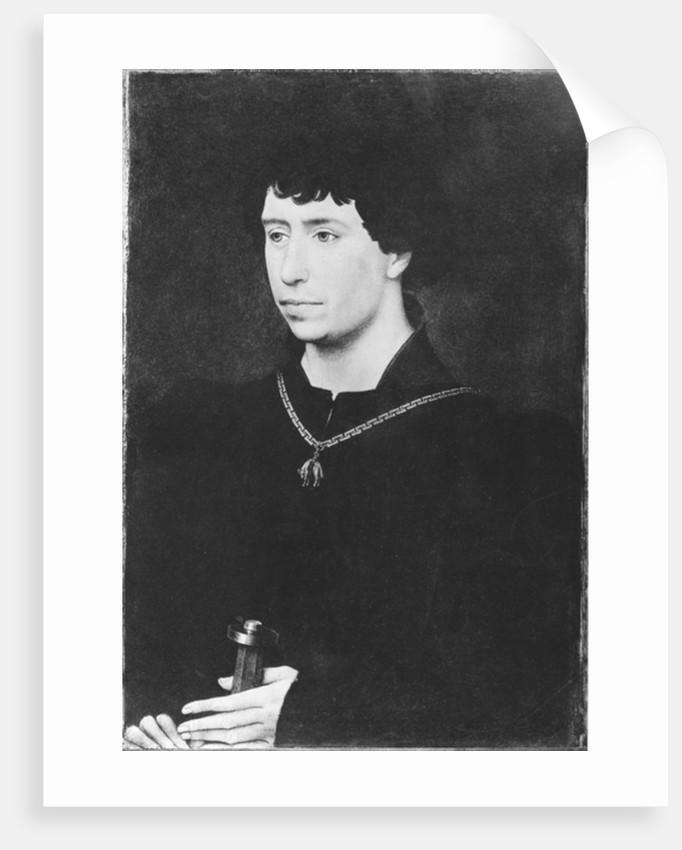 Portrait of Charles the Bold last Duke of Burgundy by Rogier van der Weyden