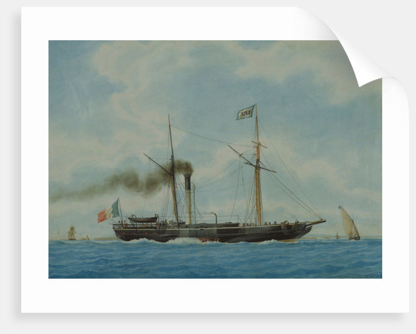 Ocean, the Ship of Captain Combes the Elder by Antoine Roux