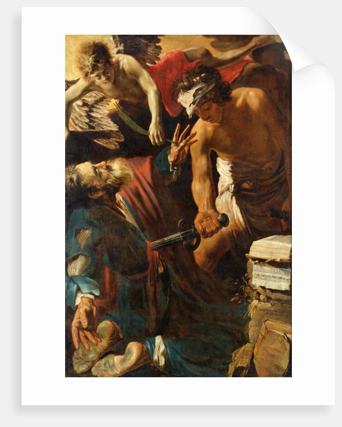 The Martyrdom of St. Matthew, 1617 by Claude Vignon