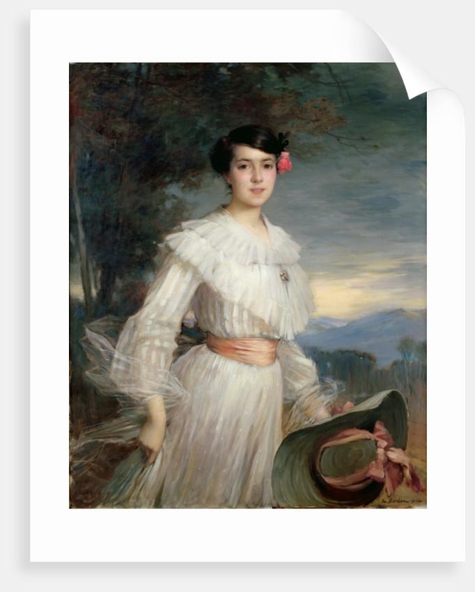 Portrait of Madeleine Reclus by Ernest Bordes
