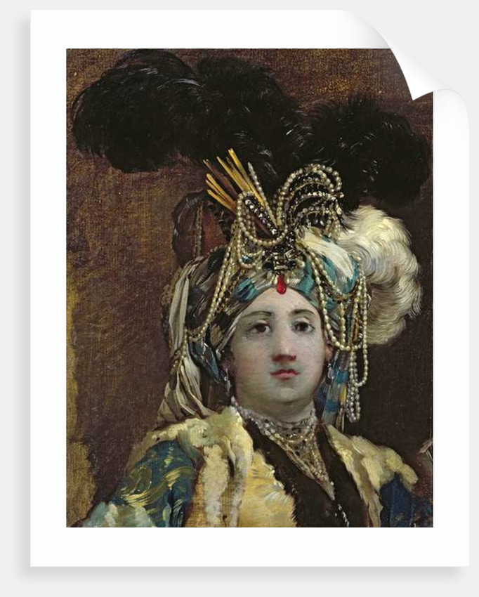 A Sultana by Joseph-Marie