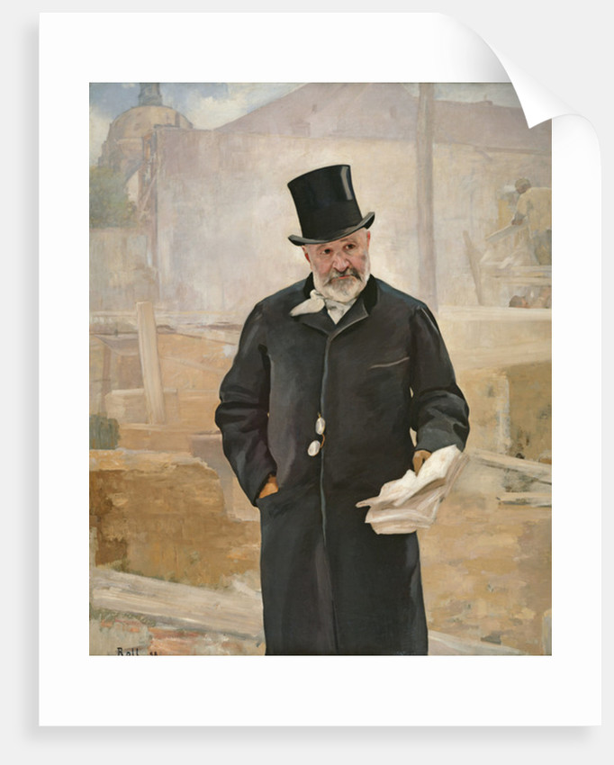 Portrait of Jean Charles Adolphe Alphand by Alfred Roll