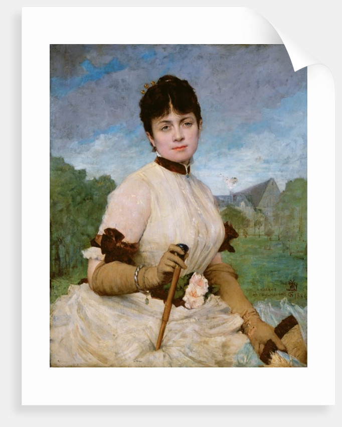 Madame Marie Toulmouche by Jules Elie Delaunay