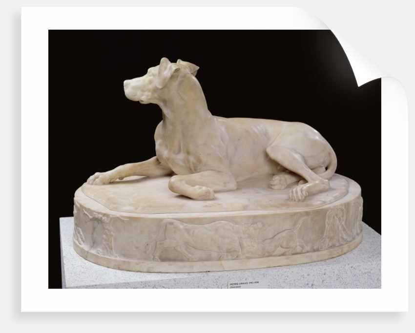 A Dog by Pierre-Francois-Gregoire Giraud
