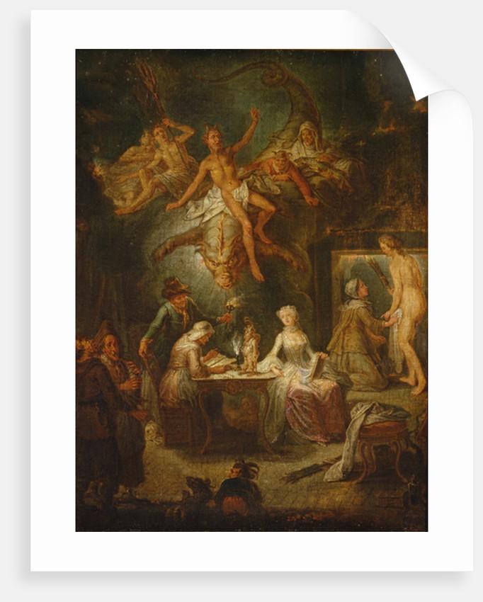 The First Experiment by Antoine Francois Saint-Aubert