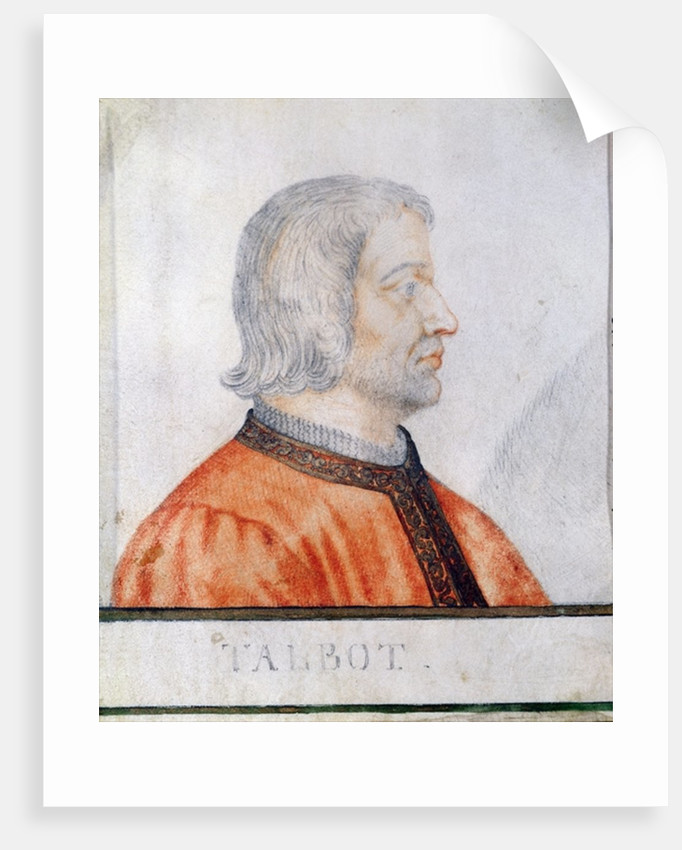 John Talbot 1st Earl of Shrewsbury by Thierry Bellange