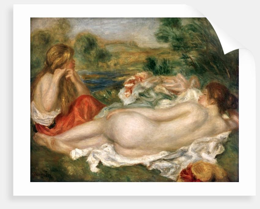 Two Bathers by Pierre Auguste Renoir