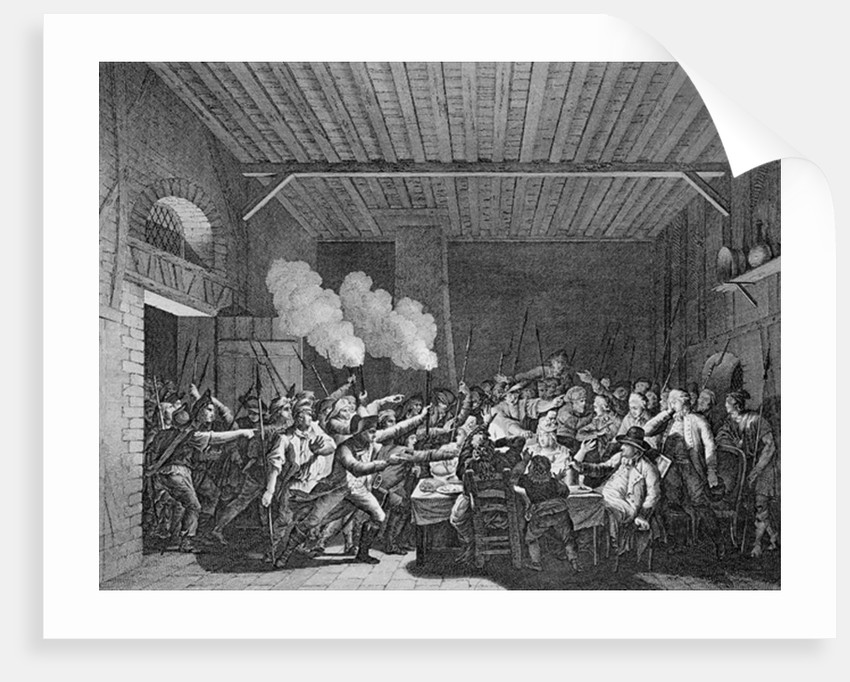 The Arrest of Louis XVI at Varennes by French School