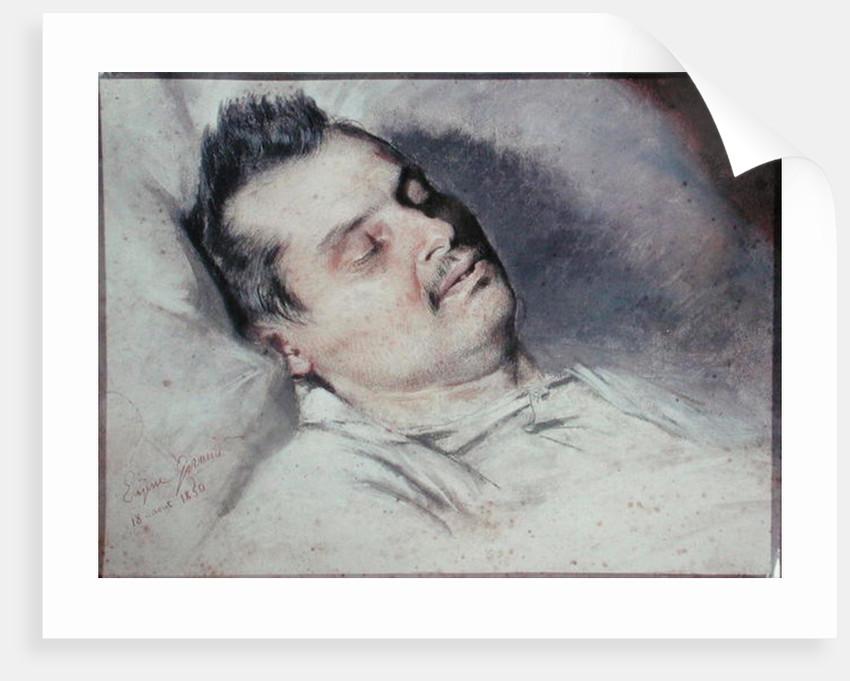 Honore De Balzac On His Deathbed