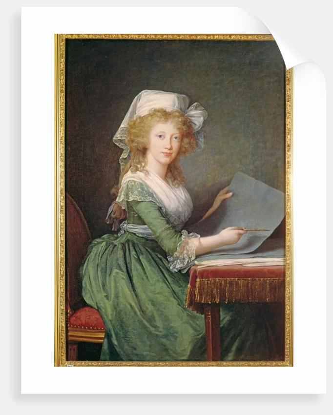 Marie-Louise of Bourbon-Sicily by Elisabeth Louise Vigee-Lebrun
