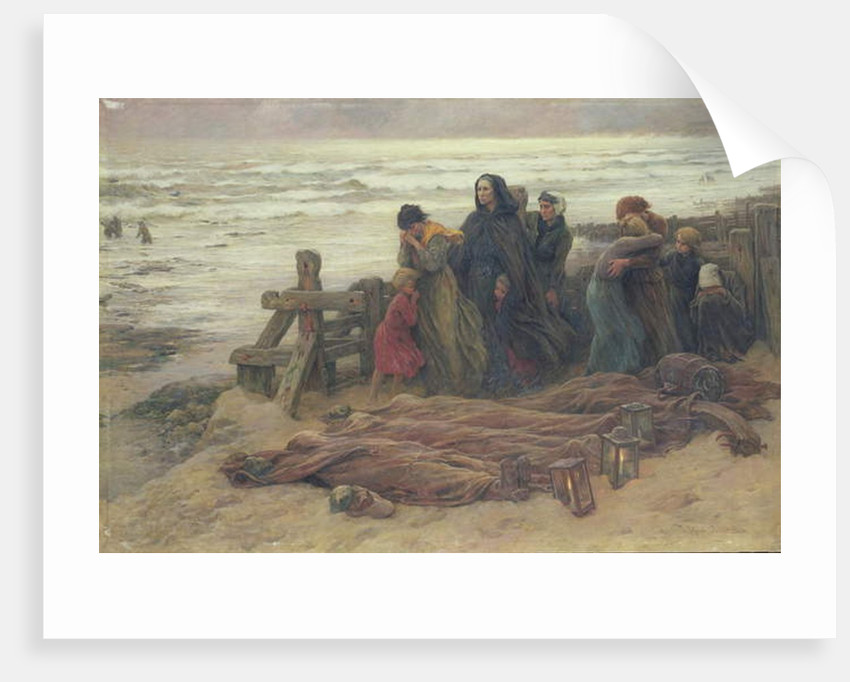 The Tormented by Virginie Demont-Breton