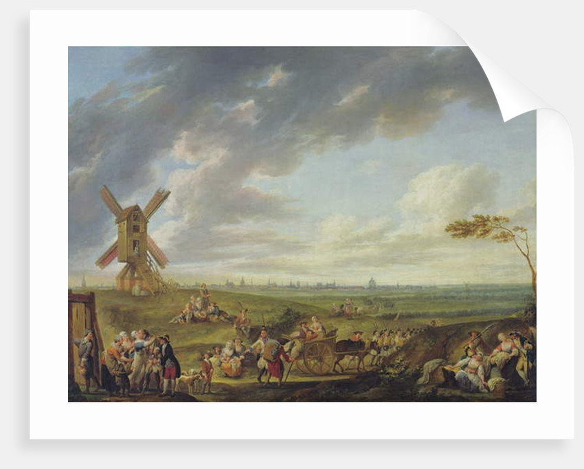 Reception of a Soldier Returning Home, 1774 by Louis Joseph Watteau