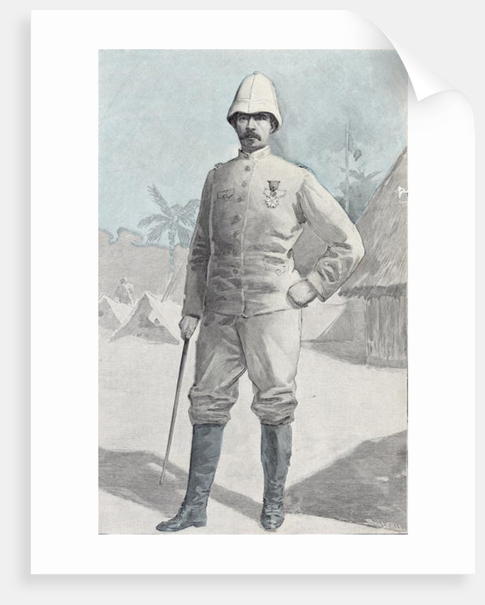General Alfred Amedee Dodds by French School